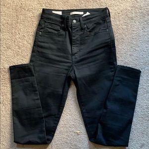Levi's Jeans - Black Levi's Mike High Skinny Jeans